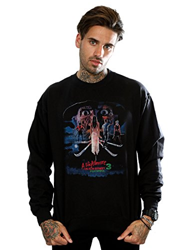 Elm negro Warriors Street Man Dream On Nightmare sudadera w5Hq7OA