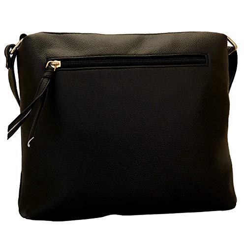 donna Fumee Bag Lupo O multifunzionale Nero Sling da tascabile Design Lapis nqUY7w44