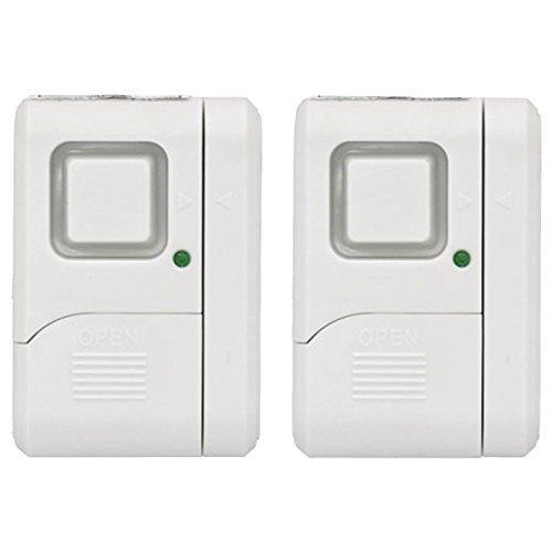 Outdoor GE Personal Security Window/Door Alarm (2 pack), 45115 Size: 2 Pack, Model: 45115, Garden Store, Repair & Hardware