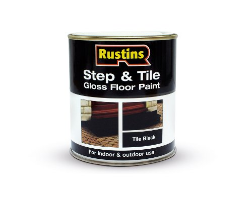 Rustins STBL1000 1L Step and Tile - Black
