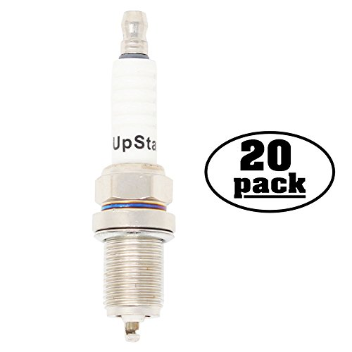 20-Pack Compatible Spark Plug for JOHN DEERE Snowblower with BRIGGS & STRATTON Intek OHV Engines - Compatible Champion RC12YC & NGK BCPR5ES Spark (Intek Snow)