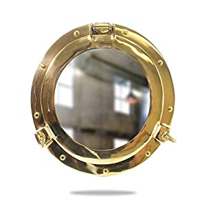 41Cy4poexoL._SS300_ 100+ Porthole Themed Mirrors For Nautical Homes For 2020