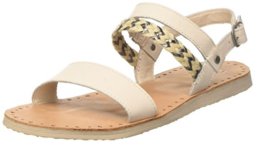 UGG Women's Elin Flat Sandal, Canvas, 9 B US Canvas Lined Sandals
