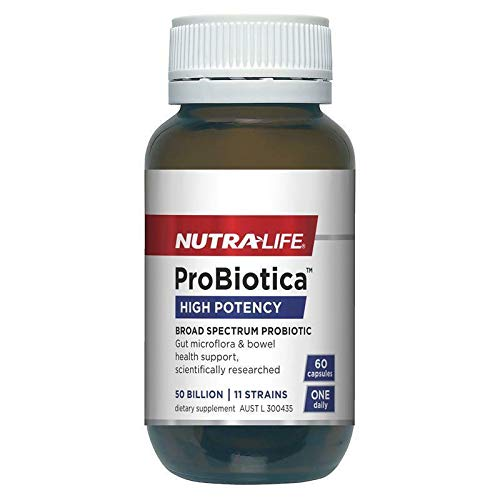 NutraLife Probiotica High Potency 60 Capsules Exclusive Size by Nutralife