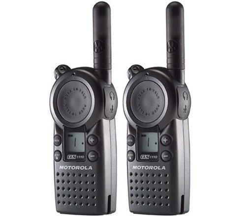 Motorola CLS1110 Professional UHF Two-Way Radio Walkie Talkie (2-Pack)