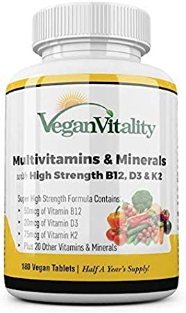 what is the best vegan multivitamin