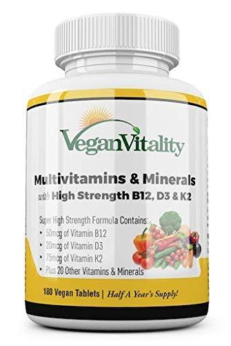 tabletas multivitamínicas orgánicas