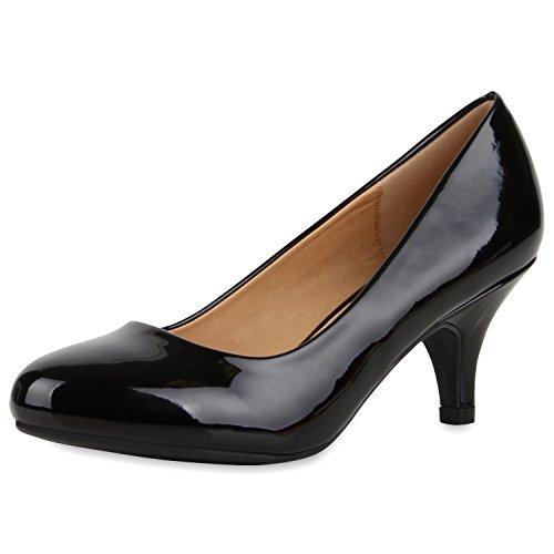 napoli-fashion - Cerrado Mujer negro brillante