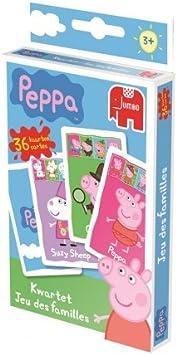 Jumbo 617916 Peppa Jeu De Cartes Amazon Fr Jeux Et Jouets