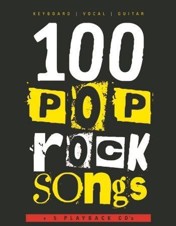 100 canciones Pop-Rock (+ 5 CD + memoria USB), piano, vocal ...