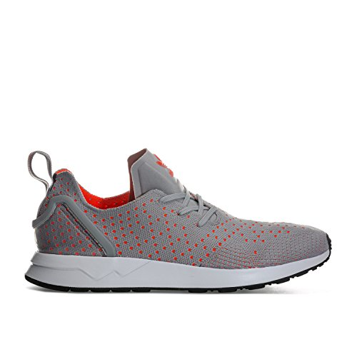 adidas Originals Mens ZX Flux ADV Asymmetrical Primeknit Trainers US14 Grey