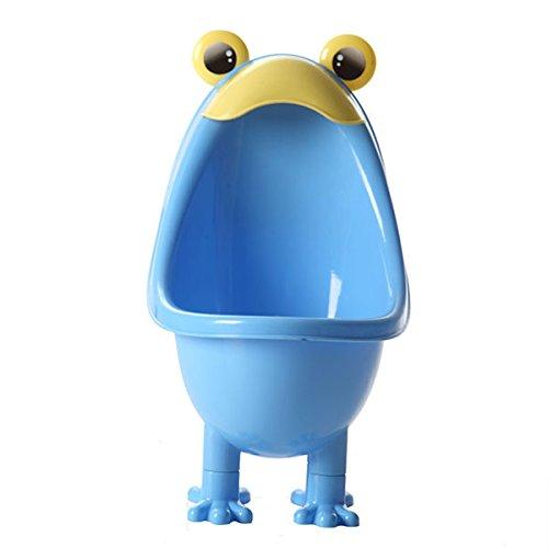 Winnerbe Frog Baby Potty Boy Bathroom Pee Trainer Standing Urinal Kid Wall-Mounted Toilet (Blue) by Winnerbe