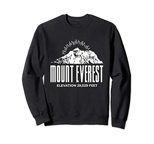 Mount Everest Shirt Rock Climbing Expedition   Sweatshirt