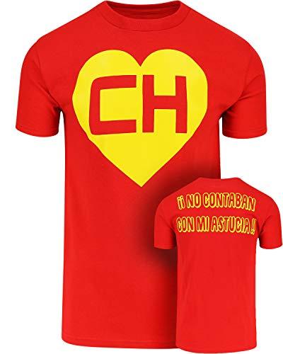 ShirtBANC Chespirito Chapulin Colorado Mens Shirt (XL, Chapulin -