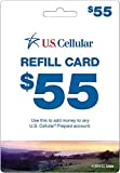 U.S. Cellular - $55 Refill Card (Mail Delivery)