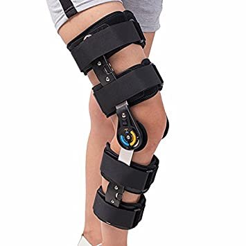 ca70e75378 Hinged Knee Patella Brace Support Stabilizer Pad Belt Band Strap Orthosis  Splint Wrap Compression Sleeve Immobilizer