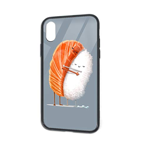 Anti-Scratch Sushi Hug Soft Silicone TPU Phone Case for iPhone X iPhone Xs
