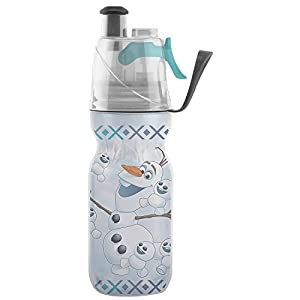 O2COOL Licensed ArcticSqueeze Insulated Mist 'N Sip Squeeze Bottle 12 oz., Olaf