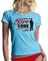 coole-fun-t-shirts Damen t-shirt THE BRO CODE - How i met your mother