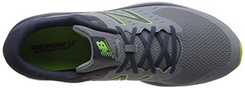 Nieuw Evenwicht Mannen 490v5 Hal Schoenen Grijs (grijs / Lime)