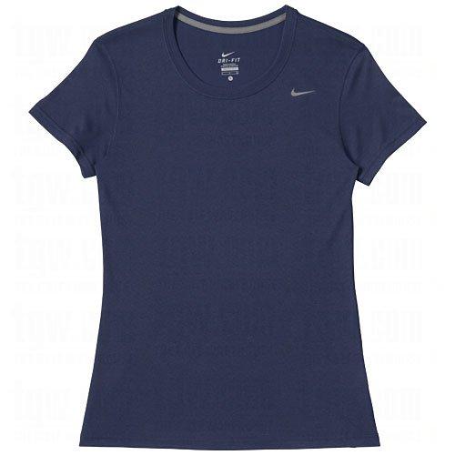 Replica T-shirt Player Jersey (Nike Womens Dri-Fit Legend Short Sleeve Training T-Shirt (Small, Navy Blue))