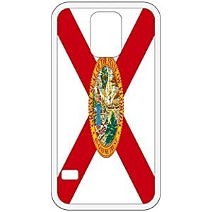 Florida FL State Flag White Samsung Galaxy S5 Cell Phone Case - Cover