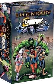 Legendary: A Marvel Deck Building Game: Legendary Champions Expansion