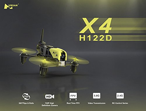 Storm Racing (Hubsan X4 Storm H122D 2.4G 5.8G FPV HD Camera Racing Drone Cam RC Quadcopter Toy)