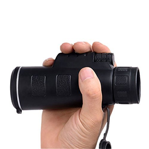 Waterproof 35 x50Monocular Telescope Telescopes Lens With Tripod For IPhone Sumsang Galaxy HTC Sony And More Smartphone FIVE FLOWER
