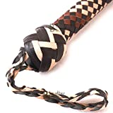 Bull Whip 10 Foot 16 Plaits Kangaroo Hide Leather