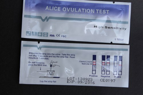 25 Early High Sensitivity Ovulation Lh Stripes Tests + 5 Pre