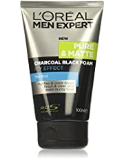 L'Oreal Men Expert Pure and Matte Charcoal Black Foam, 100 ml