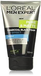 L'Oreal Men Expert Pure and Matte Charcoal Black Foam, 100 ml