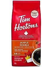 Tim Hortons Maple, Fine Grind Coffee, Medium Roast, 300g Bag
