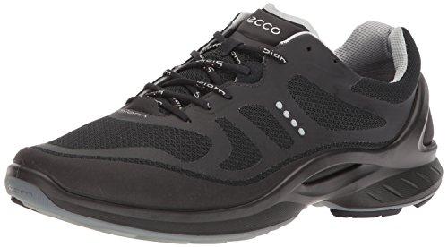 ECCO Men's Biom Fjuel Tie Walking Shoe, Black, 42 EU/8-8.5 M US