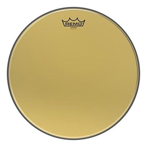 Remo Ambassador Starfire Gold Tom Head 10 in. ()