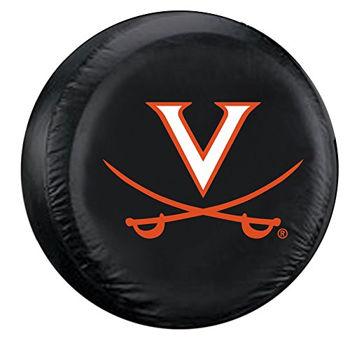 Virginia Cavaliers NCAA Spare Tire Cover (Black)