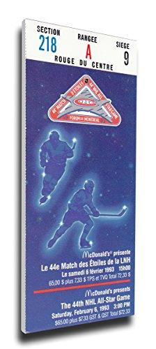 NHL Montreal Canadiens 1993 All-Star Game Mega Ticket - MVP Gartner ()