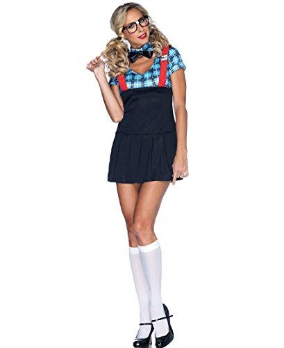 Naughty Nerd Adult Costume - (Naughty Nerd Halloween Costume)