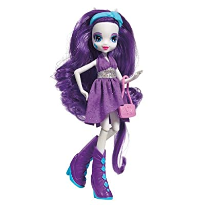 My Little Pony Equestria Girls Rarity Doll: Toys & Games