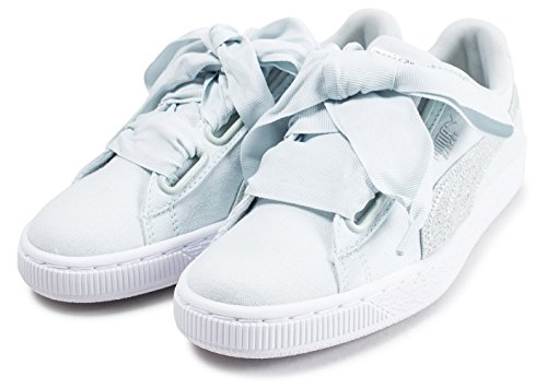 Puma 366495-02 Sneaker Damen Blu Fiore-puma Bianco-puma Argento