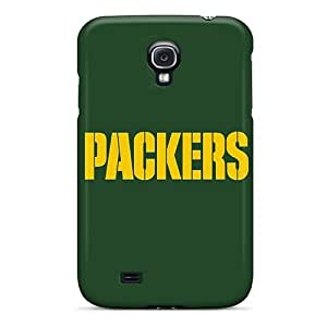 Durable Protector Case Cover With Green Bay Packers 3 Hot Design For Galaxy S4