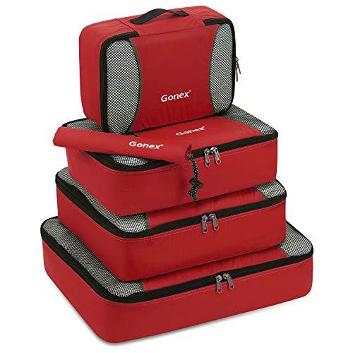 packing cubes travel luggage packing organizer shoe