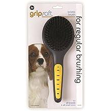 JW Pet Company GripSoft Bristle Brush Dog Brush