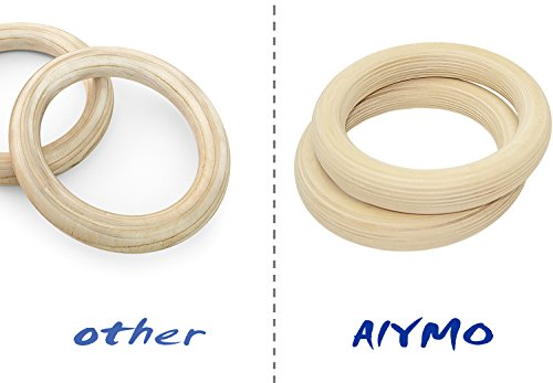 Gymnastic Rings Wood Gymnastics Rings Competition Level Gymnast Ring