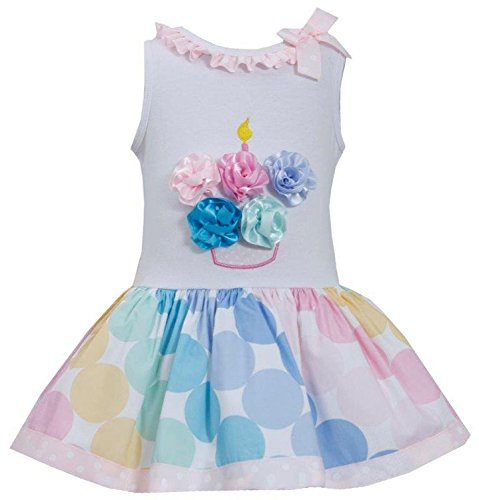 Cupcake Denim (Bonnie Jean Birthday Cupcake Shorts Set, 24 Months)