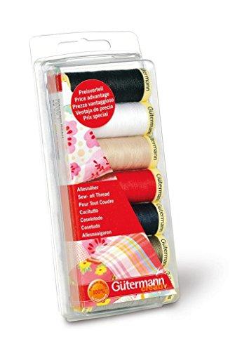 Gütermann Sew All Thread Set 7x100m-Basic Colours by Gutermann