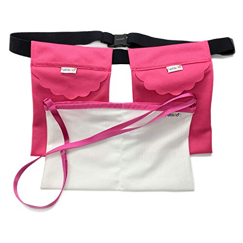 Yesito Mastectomy drainage pouch and Shower Belt for Support Adjustable Comfort -