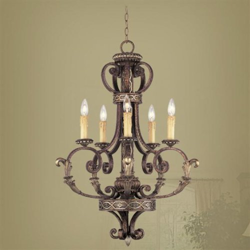 Livex Lighting 8535-64 Seville Chandelier, 26