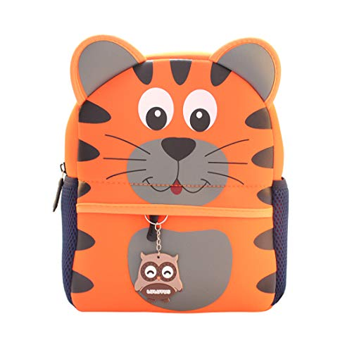 3D Toddler Backpacks for Boys Girls Cute Animals SchoolBags Waterproof Preschool Bookbag Little Kids Backpacks 2-5 Years